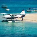 8. get back on the seaplane for another scenic flight back