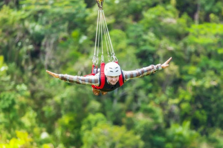 Zip Line Adventure Fiji