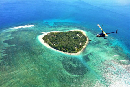 Heart Island Scenic Helicopter Tour
