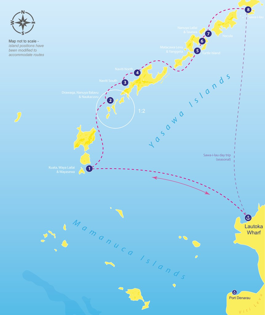 Seabus fiji routes map