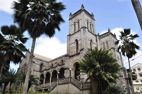 Suva cultural cathedral building